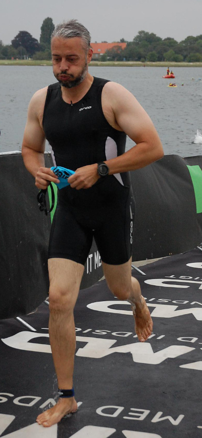 Mark triathlon