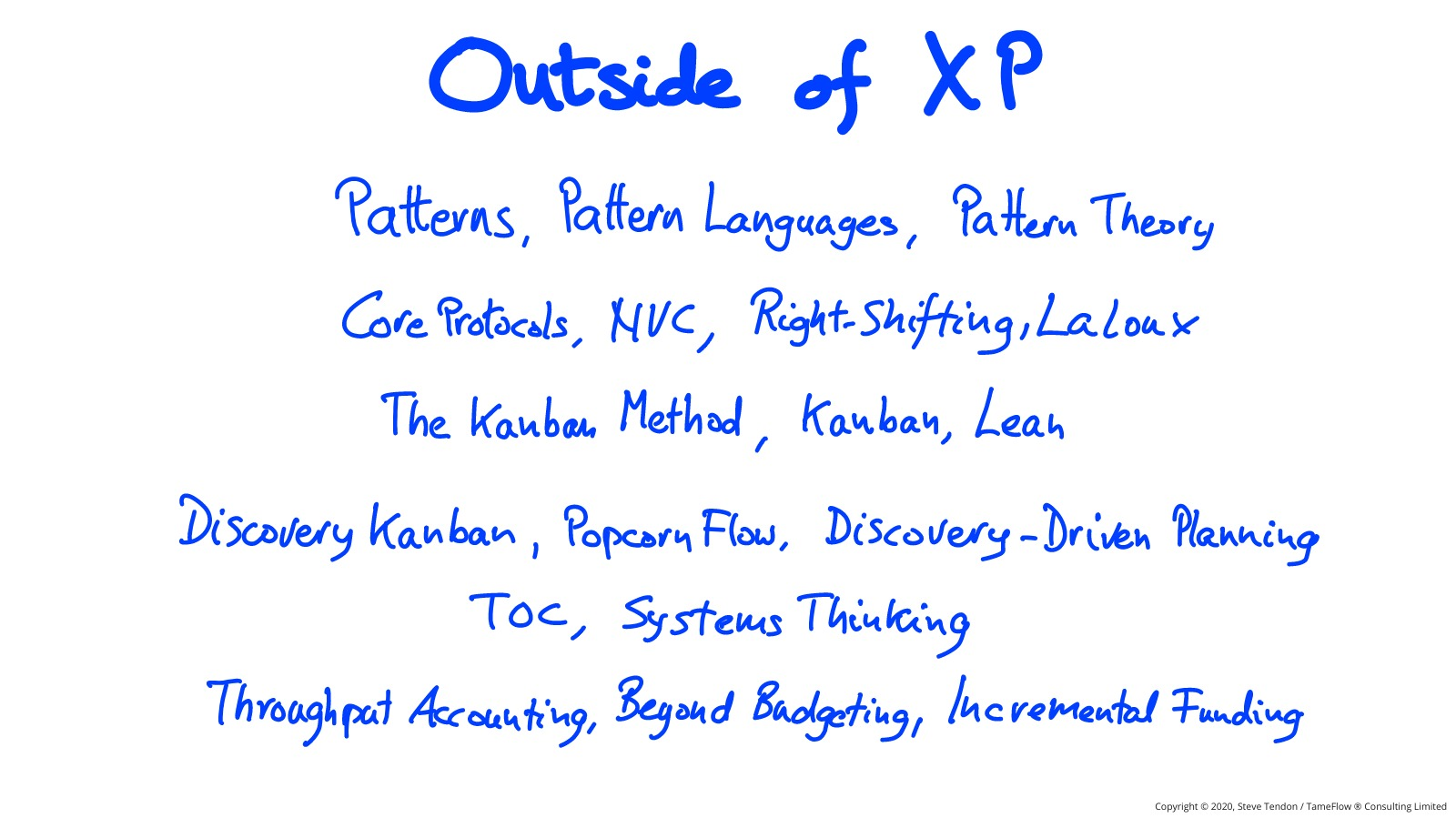 XP and TameFlow 6
